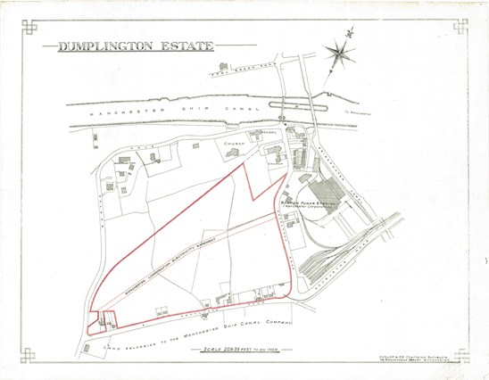 Dumplington Estates plan